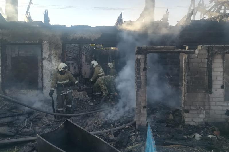 Пять пожаров за сутки ликвидировали спасатели в ВКО