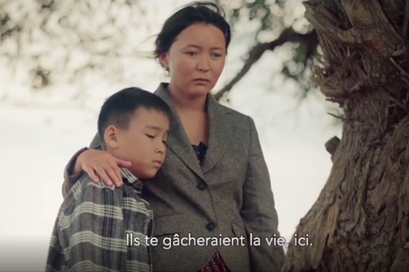 Фильм «Конокрады. Дороги времени» с участием Самал Еслямовой вышел в прокат во Франции