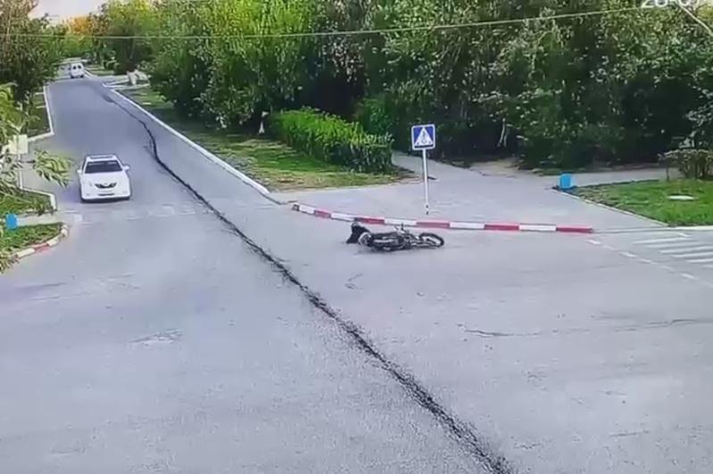 «Полицейский сбил мотоциклиста»: в полиции назвали информацию фейком