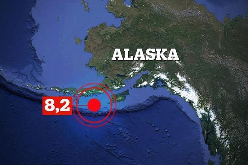 Magnitude 8.2 quake strikes Alaska, tsunami warning issued