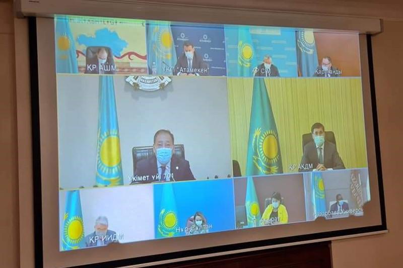 Ералы Тугжанов провел онлайн-совещание по развитию национальных брендов