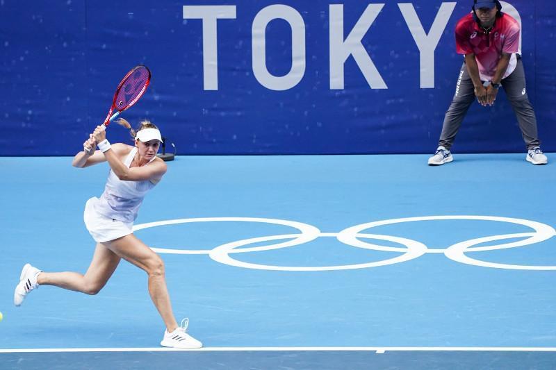 东京奥运会网球:热巴金娜不敌对手 无缘决赛