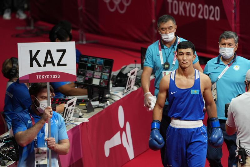 Kazakhstani middleweight off to good start at Tokyo Olympics
