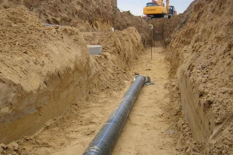 Около 20 километров водовода заменили в посёлке Саяк Карагандинской области
