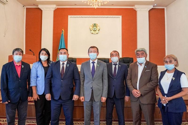 Нурлан Абдиров встретился с вновь избранными сельскими акимами Карагандинской области
