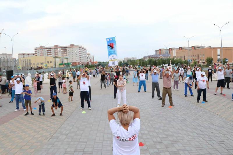В Западно-Казахстанской области стартовал проект #aulafit