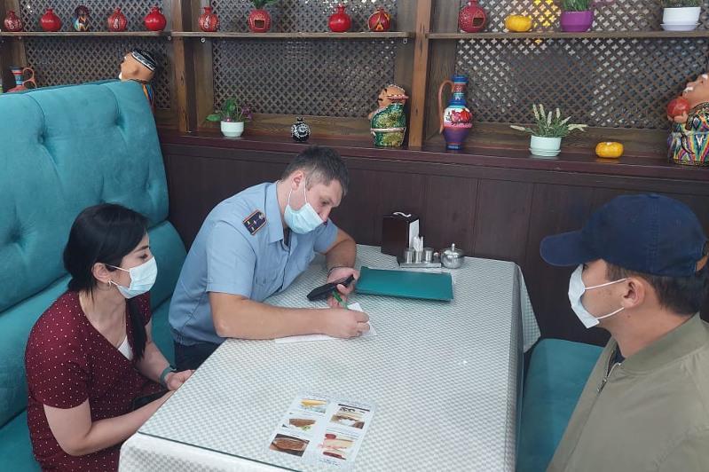 Восемь нарушителей карантина выявили за день в Нур-Султане