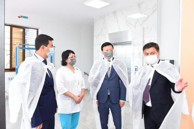 Kazakh Health Minister pays working visit to Shymkent