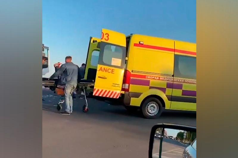 Трое детей пострадали в аварии в Петропавловске