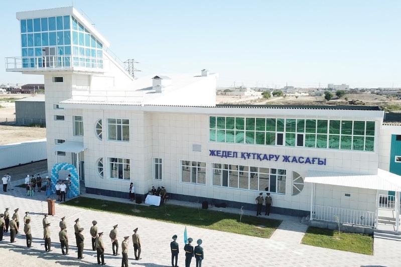 Новая водно-спасательная станция открыта в Мангыстауской области