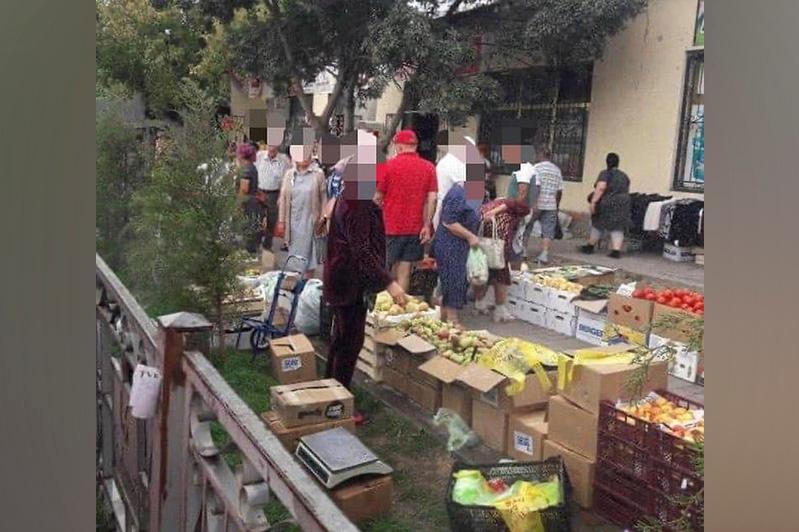 Почти 300 граждан наказаны за стихийную торговлю в Шымкенте