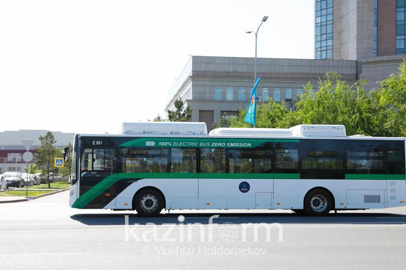 Nur-Sultanda demalys kúnderi avtobýstar qatynamaıdy