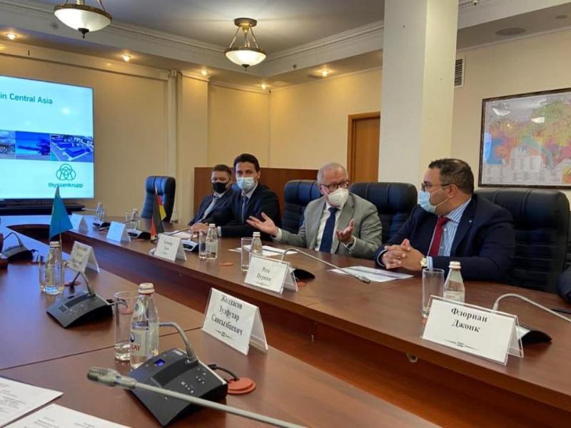 Вопросы сотрудничества в рамках охраны окружающей среды обсудили Магзум Мирзагалиев и посол Германии в РК