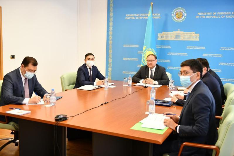 哈萨克斯坦与巴西政府间磋商会议以线上模式举行