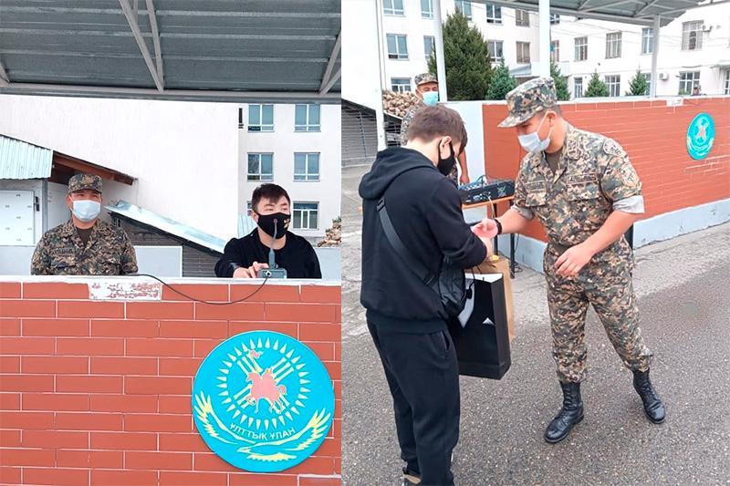 Бронзовый призер Олимпиады Игорь Сон посетил воинскую часть Нацгвардии