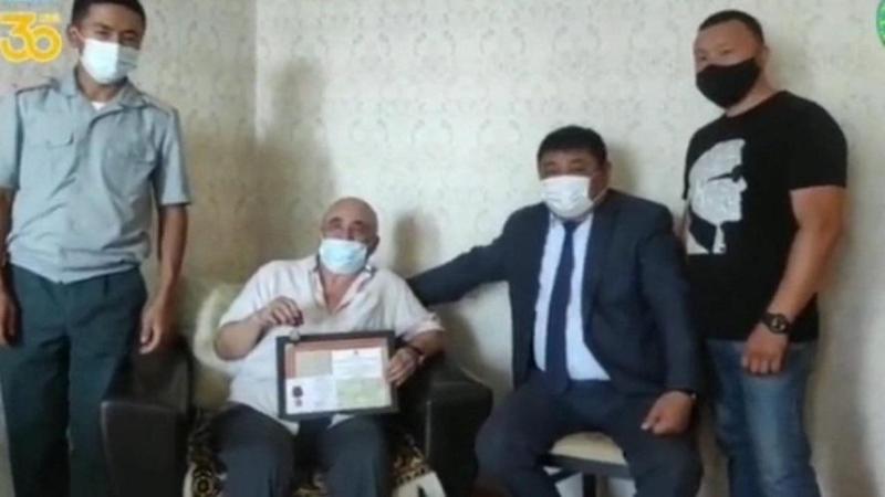Личные вещи погибшего солдата ВОВ вернулись на родину в Карагандинскую область