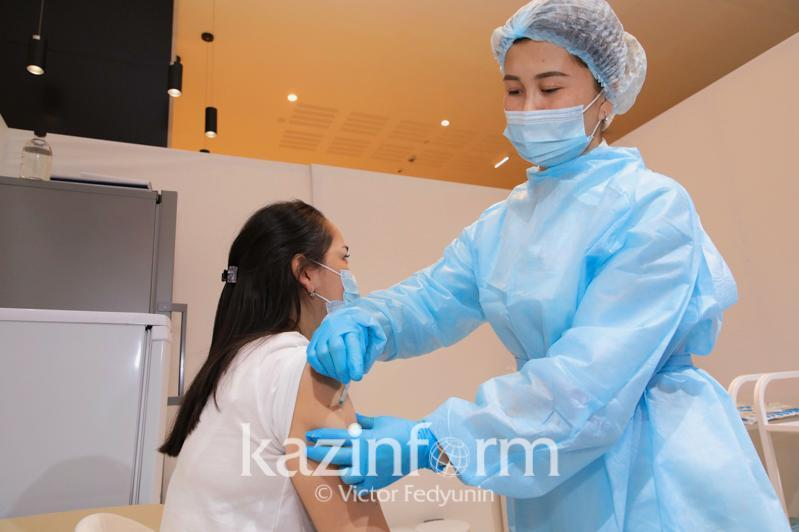 哈萨克斯坦已有540万余人接种新冠疫苗