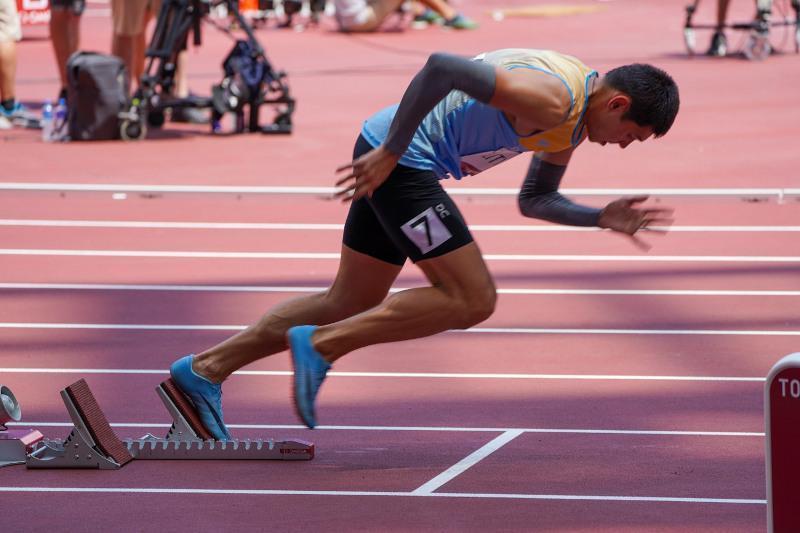 Tokyo Olympics: Mikhail Litvin finishes seventh in Men's 400m Heat 5