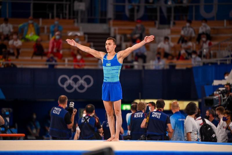 Гимнаст Милад Карими занял пятое место на Олимпиаде в Токио
