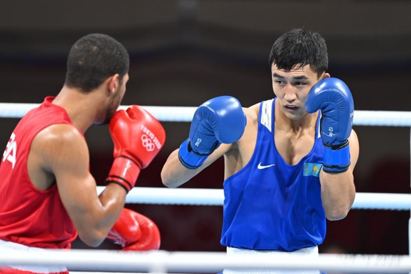 Боксер Абильхан Аманкул уступил в 1/4 финала Олимпийских игр