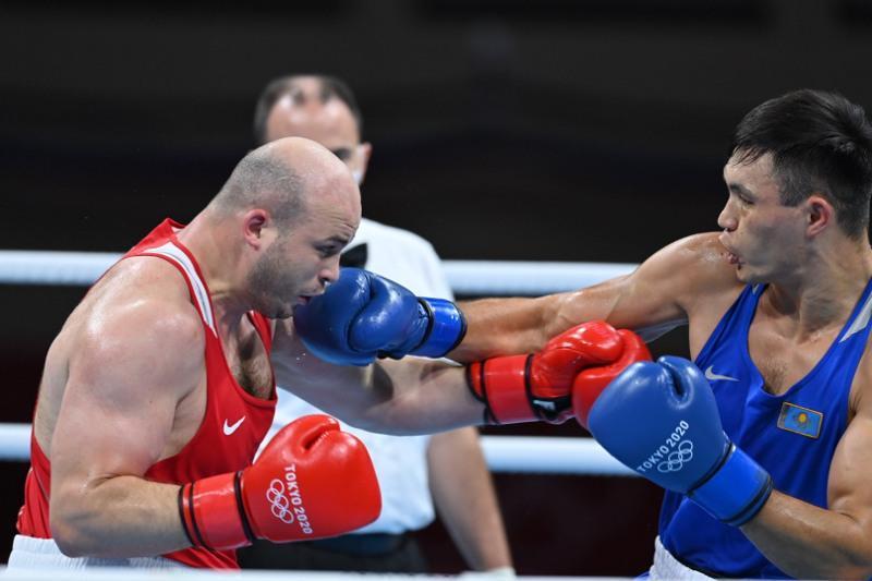 Boxer Kunkabayev reaches boxing event semis at Tokyo Olympics