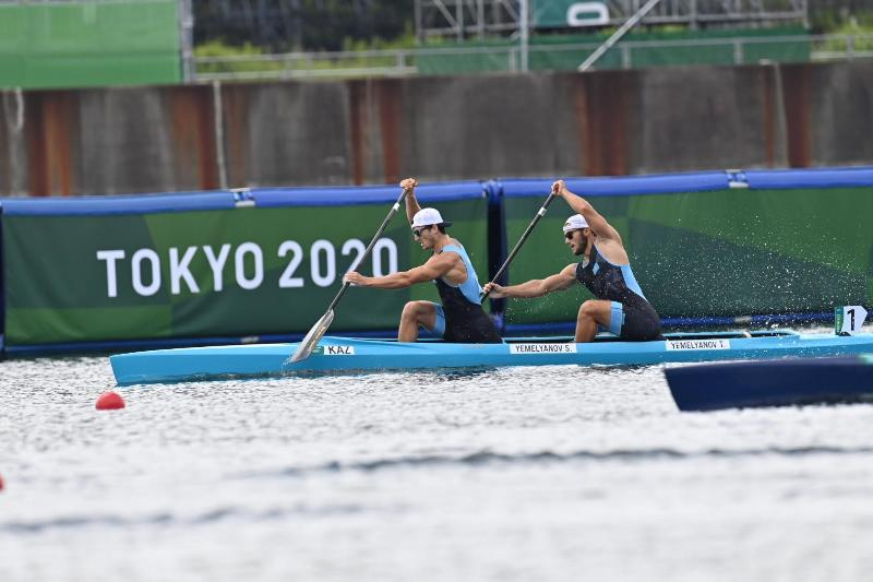 Kazakhstani rowers advance to quarter-finals at Olympics in Tokyo