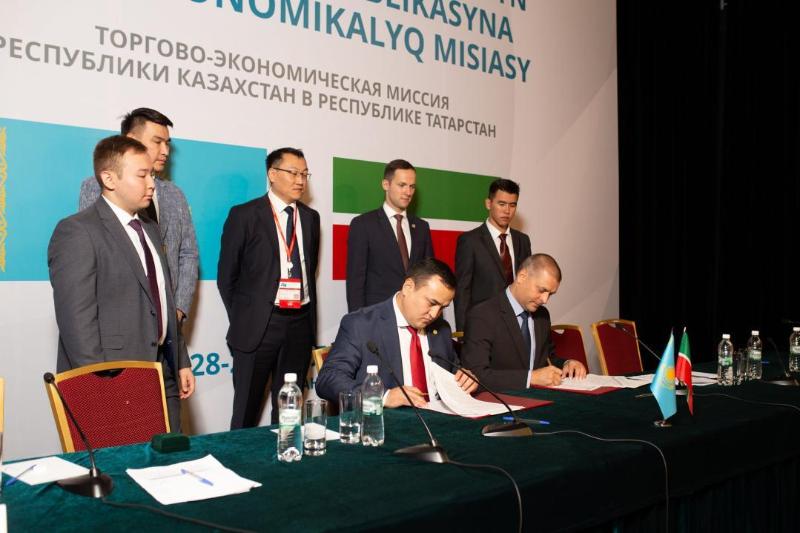 哈国企业在鞑靼斯坦签署超1500万美元合同