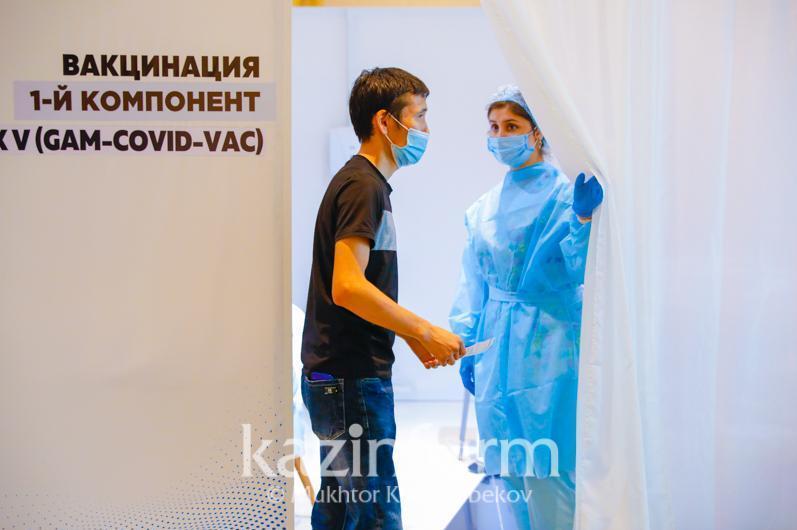 哈萨克斯坦已有近543万人接种新冠疫苗