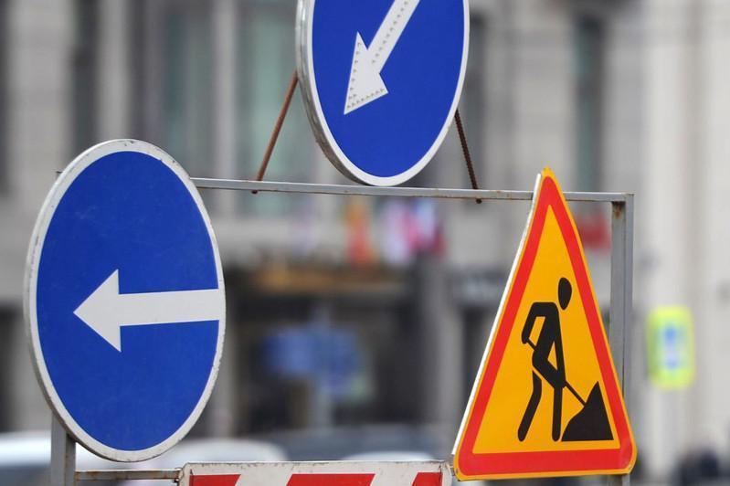 Участок столичной улицы Иманова перекрыт из-за ремонта