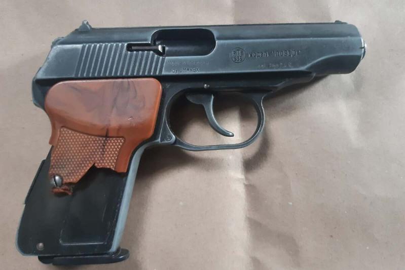Пистолет изъяли дома у жителя Усть-Каменогорска