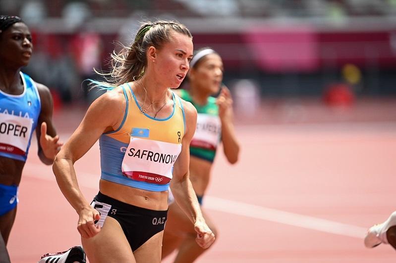 东京奥运会:奥尔加·萨弗洛诺娃无缘田径200米半决赛