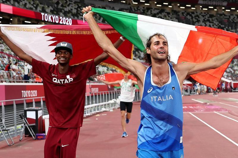 Впервые за сто лет два легкоатлета поделили «золото» на Олимпиаде в Токио