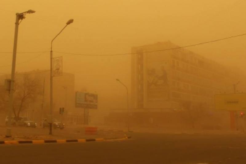 Штормовое предупреждениеобъявлено в четырех областях Казахстана