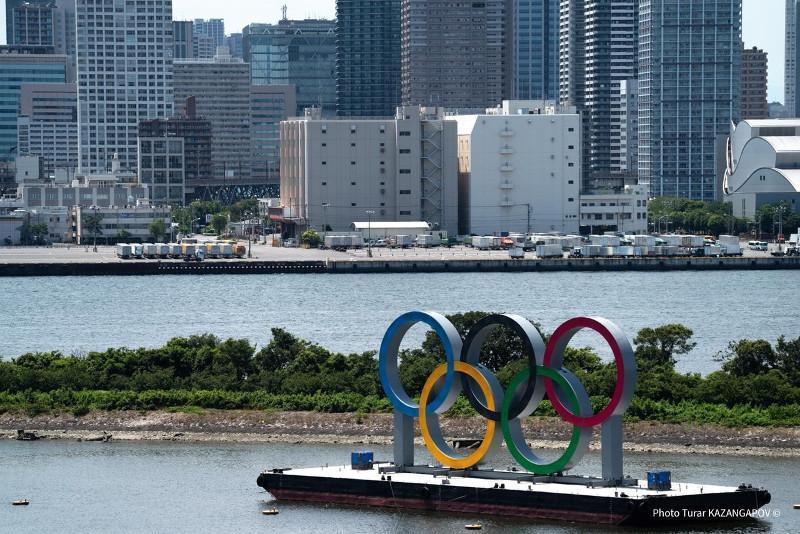 Kazakhstan's karate team arrives in Tokyo Olympic village