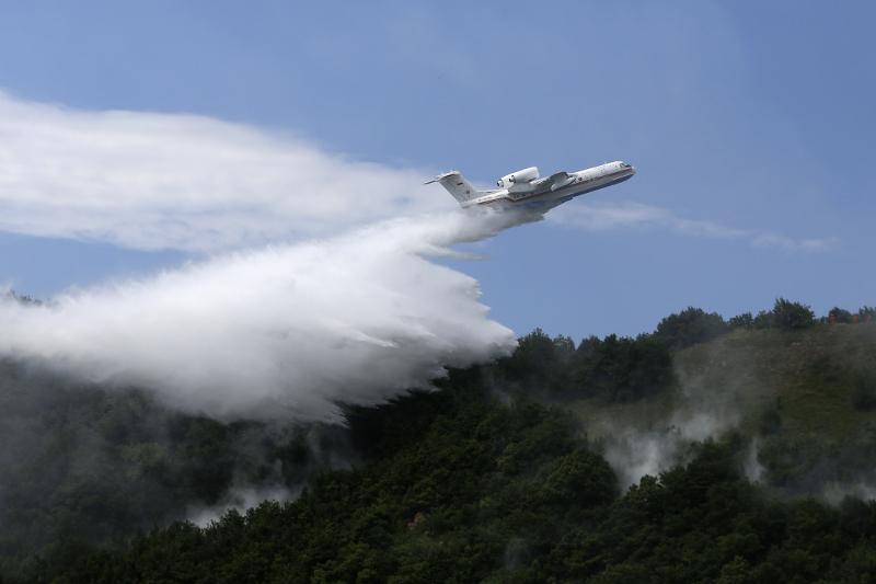 Три специальных самолета для борьбы с пожараминаправилЕвросоюзв Турцию