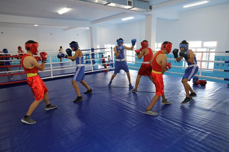 «Ауыл - ел бесігі»: новые спортивные объекты открывают в Жамбылской области