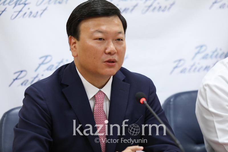 Kazakhstan follows optimistic scenario, Healthcare Minister