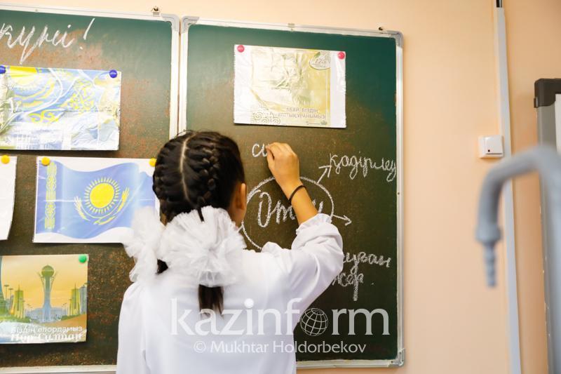 Түркістан облысында жаңа оқу жылында 70 мыңға жуық бала бірінші сыныпқа барады