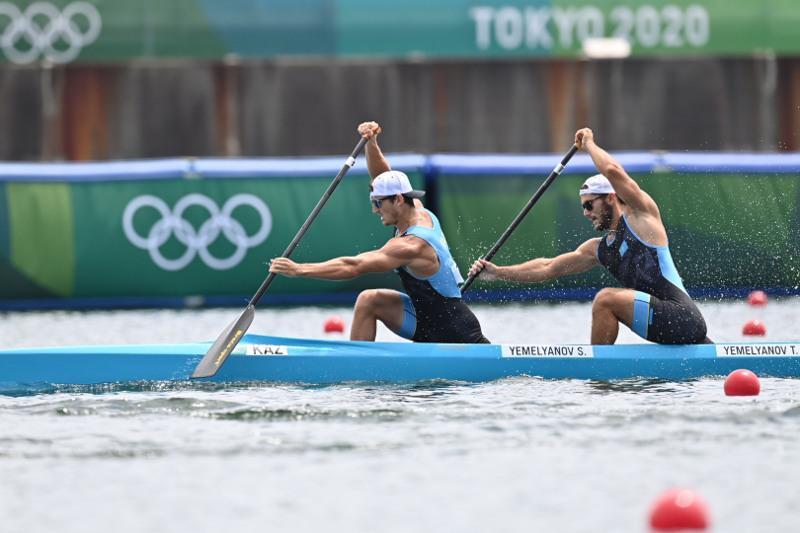 Kazakhstani kayakers 4th in 1,000m Final B at Tokyo Olympics