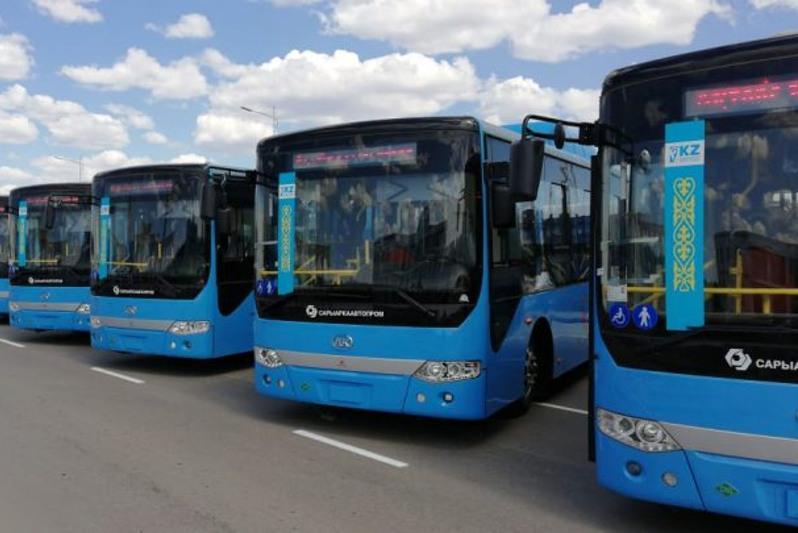 50 новыми автобусами пополнится костанайский автобусный парк