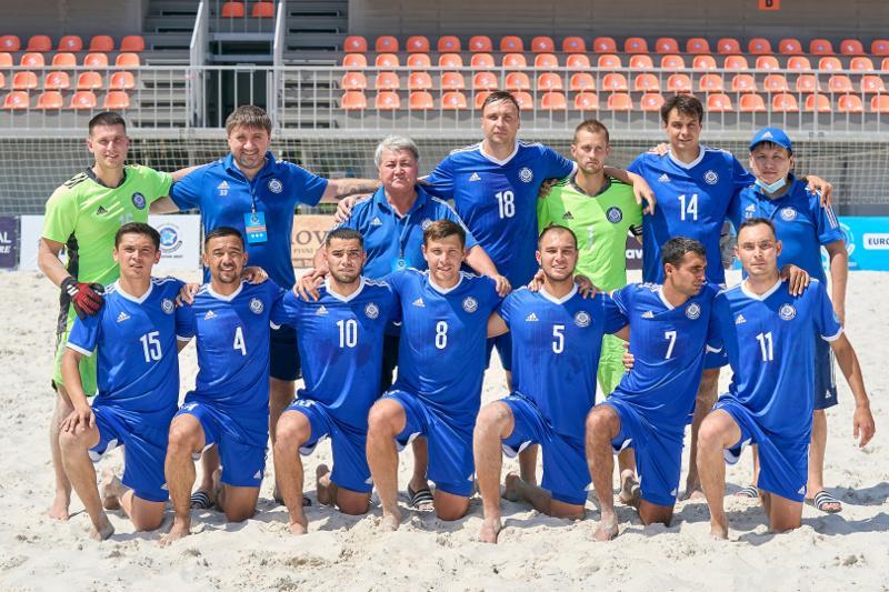 Сборная Казахстана по пляжному футболу завоевала «бронзу» Евролиги в Кишиневе