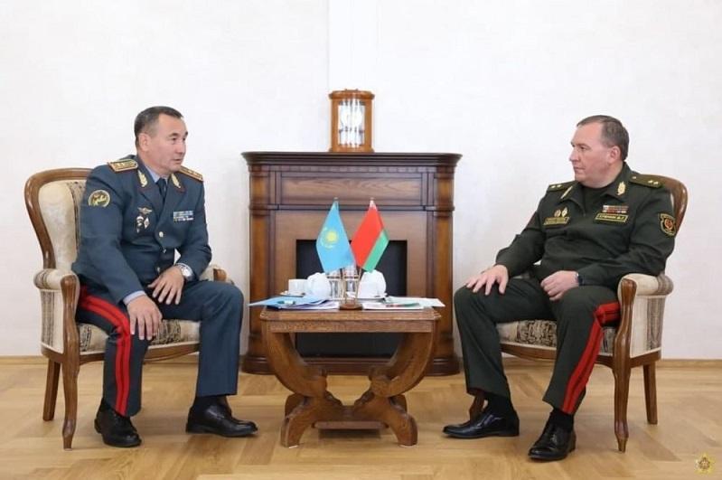 Начальник генштаба Вооруженных сил Казахстана посетил с официальным визитом Беларусь