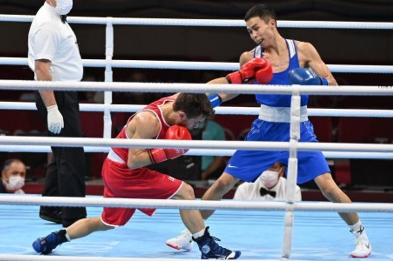 Tokyo 2020: Kazakhstani Saken Bibossinov advances to boxing semifinals