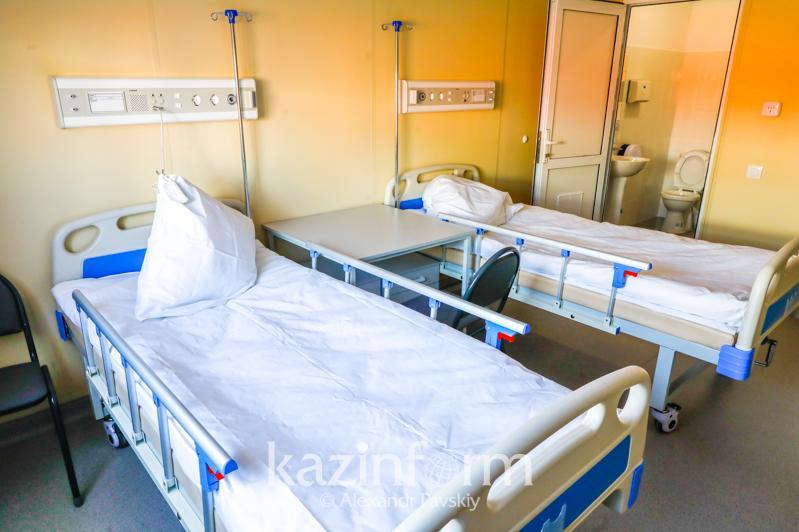 Дополнительные койки для больных COVID-19 развернули в Алматы