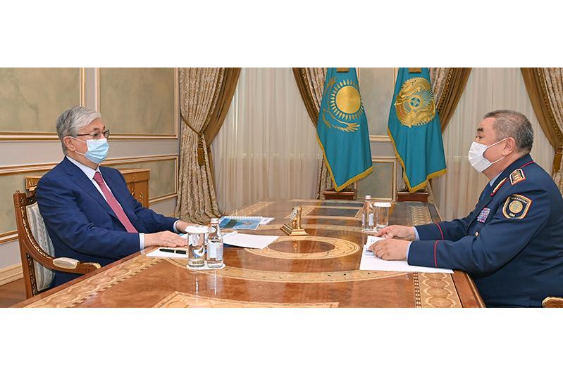 Касым-Жомарт Токаев поручил МВД уделять особое внимание обеспечению карантинных мер