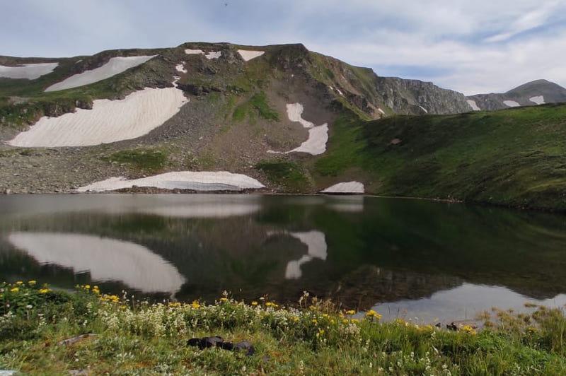 Специалисты обследовали моренные озера в Восточном Казахстане
