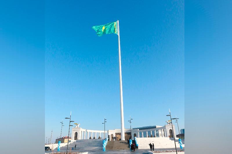 Atyraý ákimdigi 91 metr tuǵyrdaǵy týdyń túsirilýine qatysty vıdeoǵa túsinik berdi