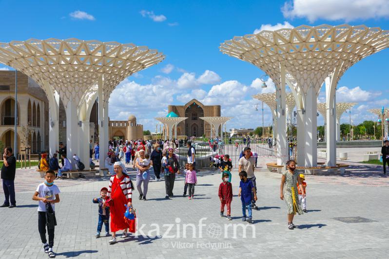 疫情形势:突厥斯坦州风险等级下调至绿区