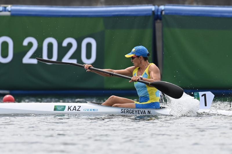 Kayaker Sergeyeva qualifies for quarterfinal at Tokyo Olympics