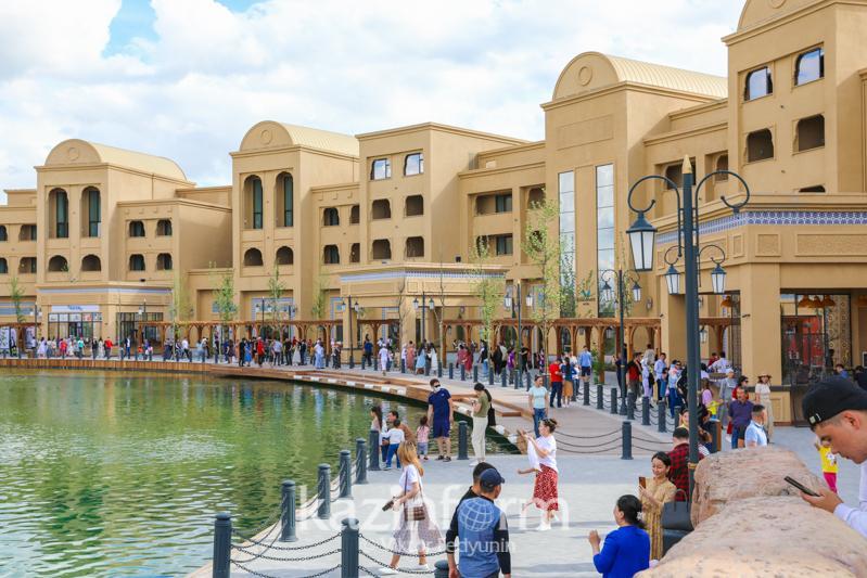 Как продвигают бизнес в туристическом комплексе «Керуен сарай» в Туркестане